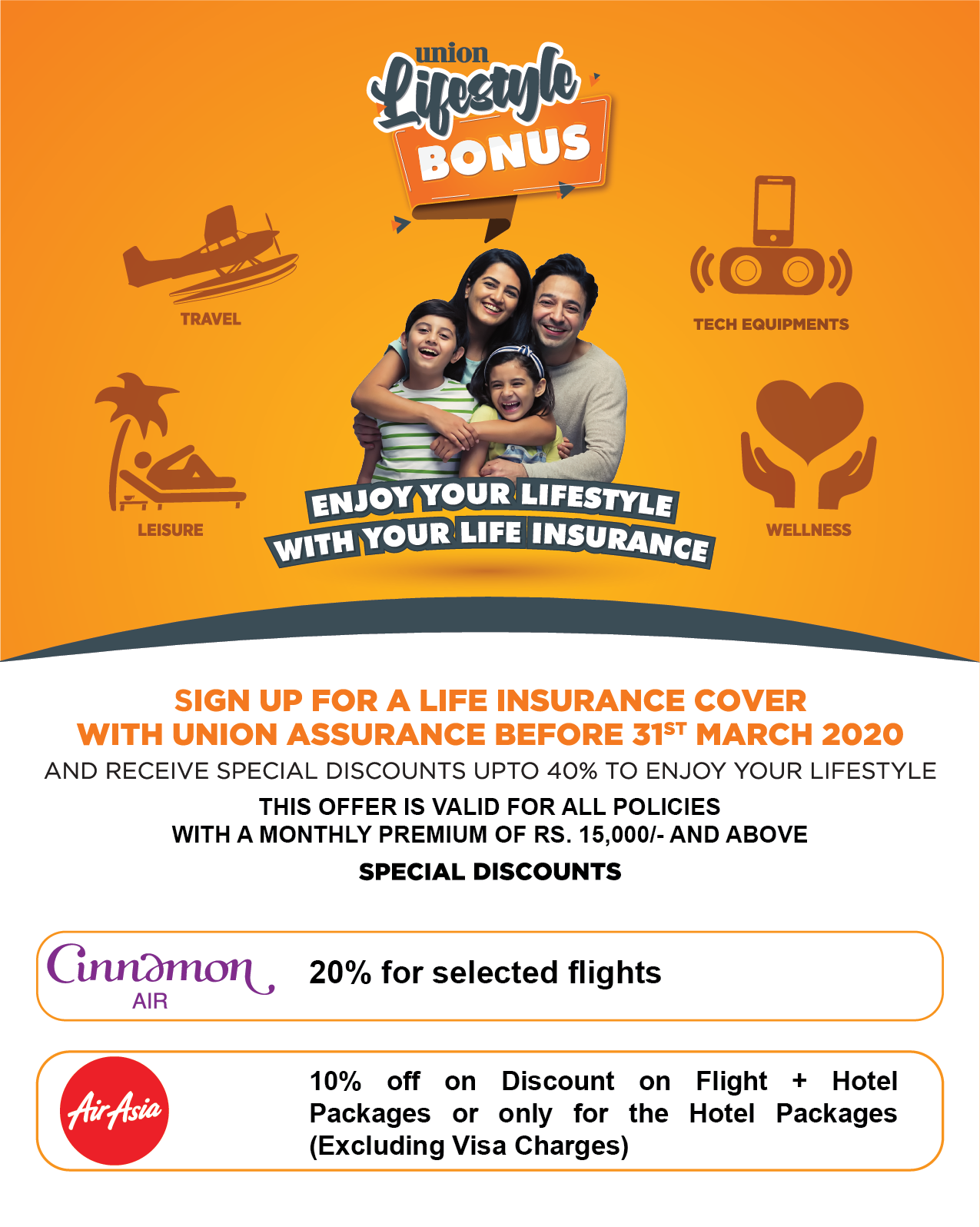 Explore the World with 'Union Lifestyle Bonus' Travel Deals