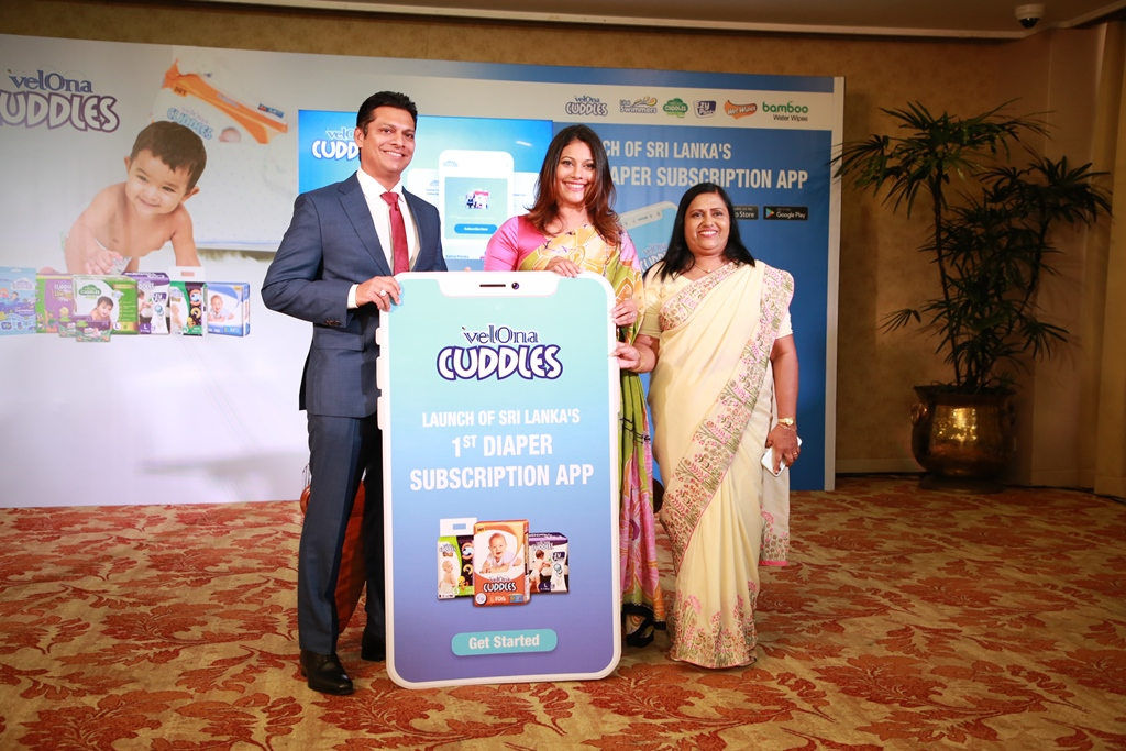 Velona Cuddles Launches Sri Lanka's First Diaper Subscription App