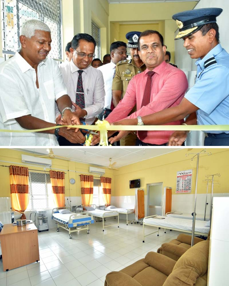 Ceylinco Life renovates & re-equips Chemo Unit for Trinco General Hospital