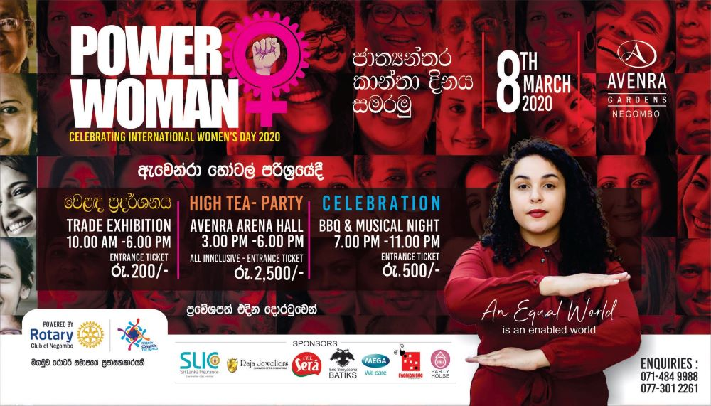 Power Woman – All Set for Sri Lanka's largest Women's Day Celebration in 2020