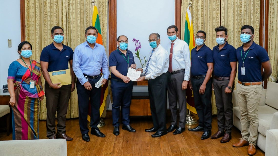 Ocean Lanka Joins Government's Fight Against COVID-19