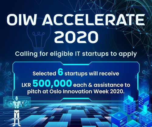 SLASSCOM boosts Start-ups with OIW Accelerate 2020 program