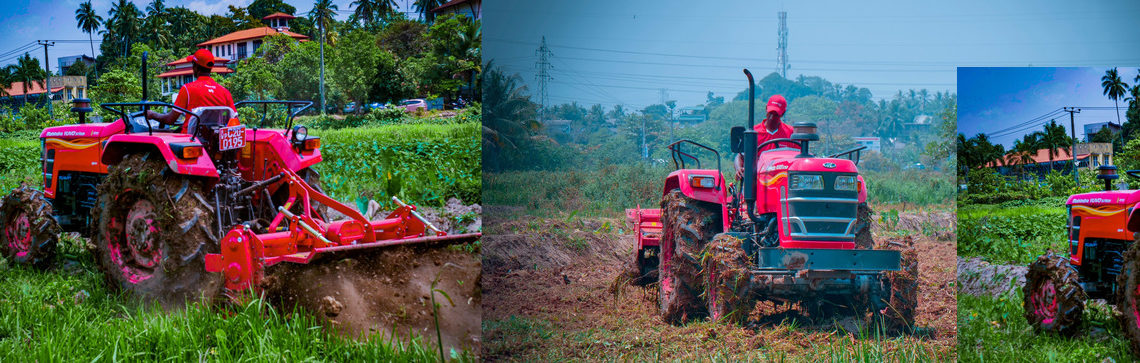 "DIMO Agri Machinery Division together with Mahindra Tractors supports ""Waga Saubhagya"" and youth-led Barren Land Recultivation"