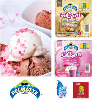 Pelwatte launches alluring new ice cream flavours; Faluda and Ginger Biscuit