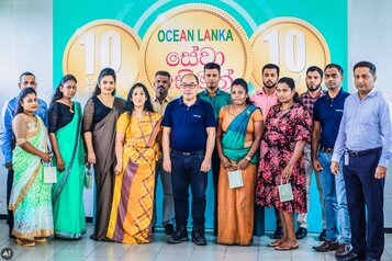 Ocean Lanka recognises sixty-three long-serving employees