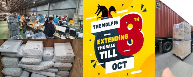 The Big Bad Wolf Online Book Sale to howl until October 8  by popular demand