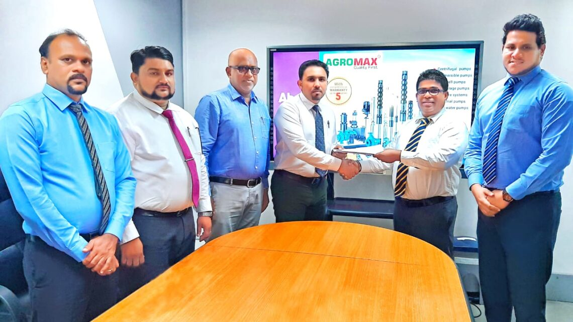 Water-pumping solutions pioneer – AGROMAX partners with Abans to better serve consumer water requirements