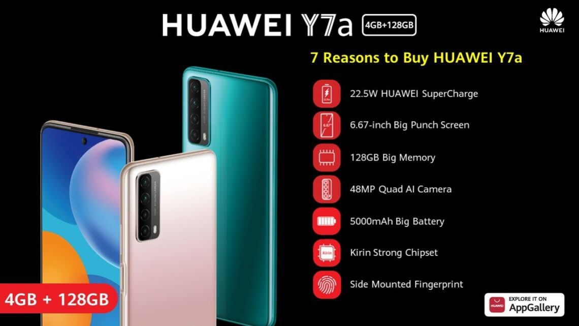 Reasons that make Huawei Y7a the most desirable mid-range smartphone