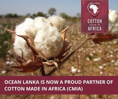 Ocean Lanka Enters into Partnership with Cotton made in Africa (CmiA)