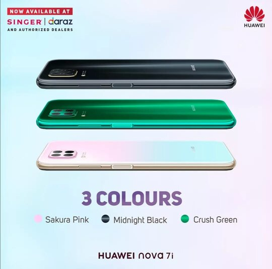 Huawei Nova 7i with stunning design and Quad cameras is the smartphone to beat