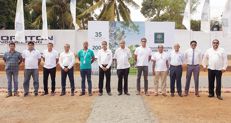 KELSEY HOMES hosts the groundbreaking ceremony post tremendous success of first and second phases of CENTRAL PARK JA-ELA