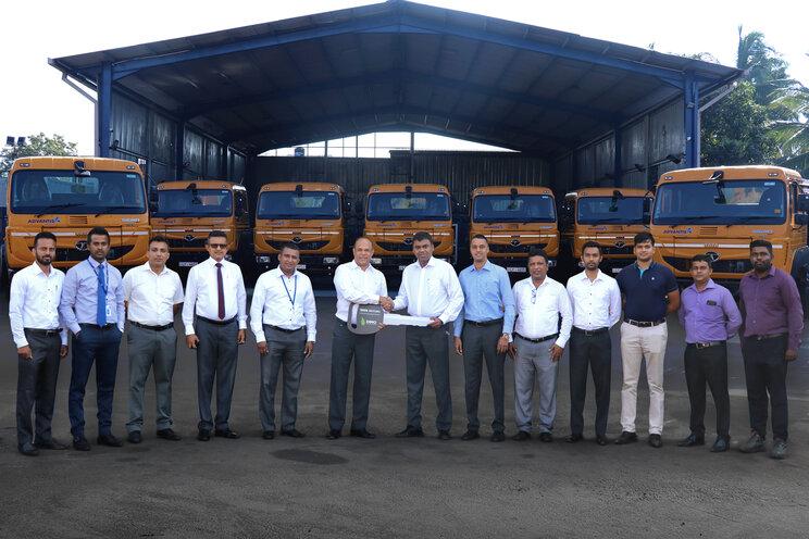 DIMO நிறுவனத்திடமிருந்து TATA SIGNA 4018.S பிரைம் மூவர்களை தெரிவு செய்த ADVANTIS PROJECTS & ENGINEERING