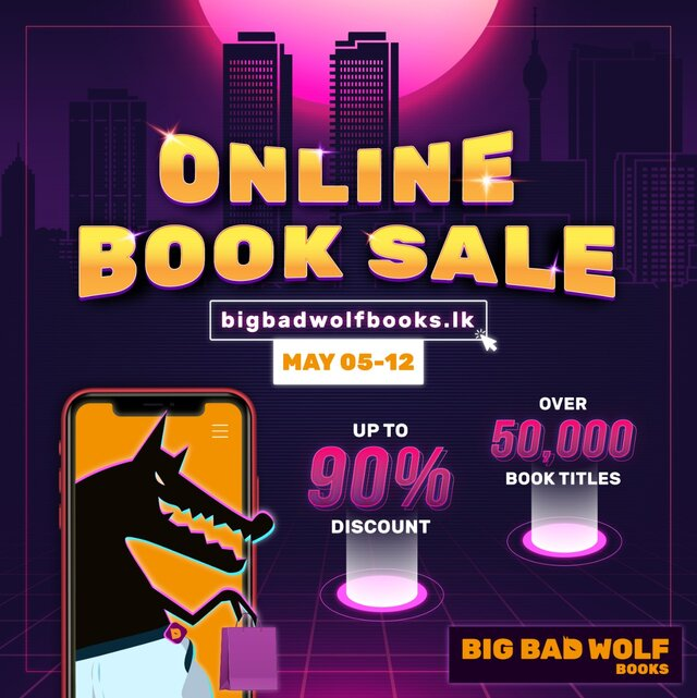 "The Big Bad Wolf Book Sale ""Howls"" Online Once Again!"