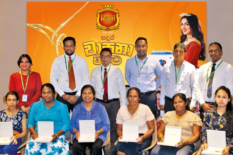 Sri Lanka's heritage personal care brand Rani Sandalwood rewards winners with Rani Sandun Wasana Warama